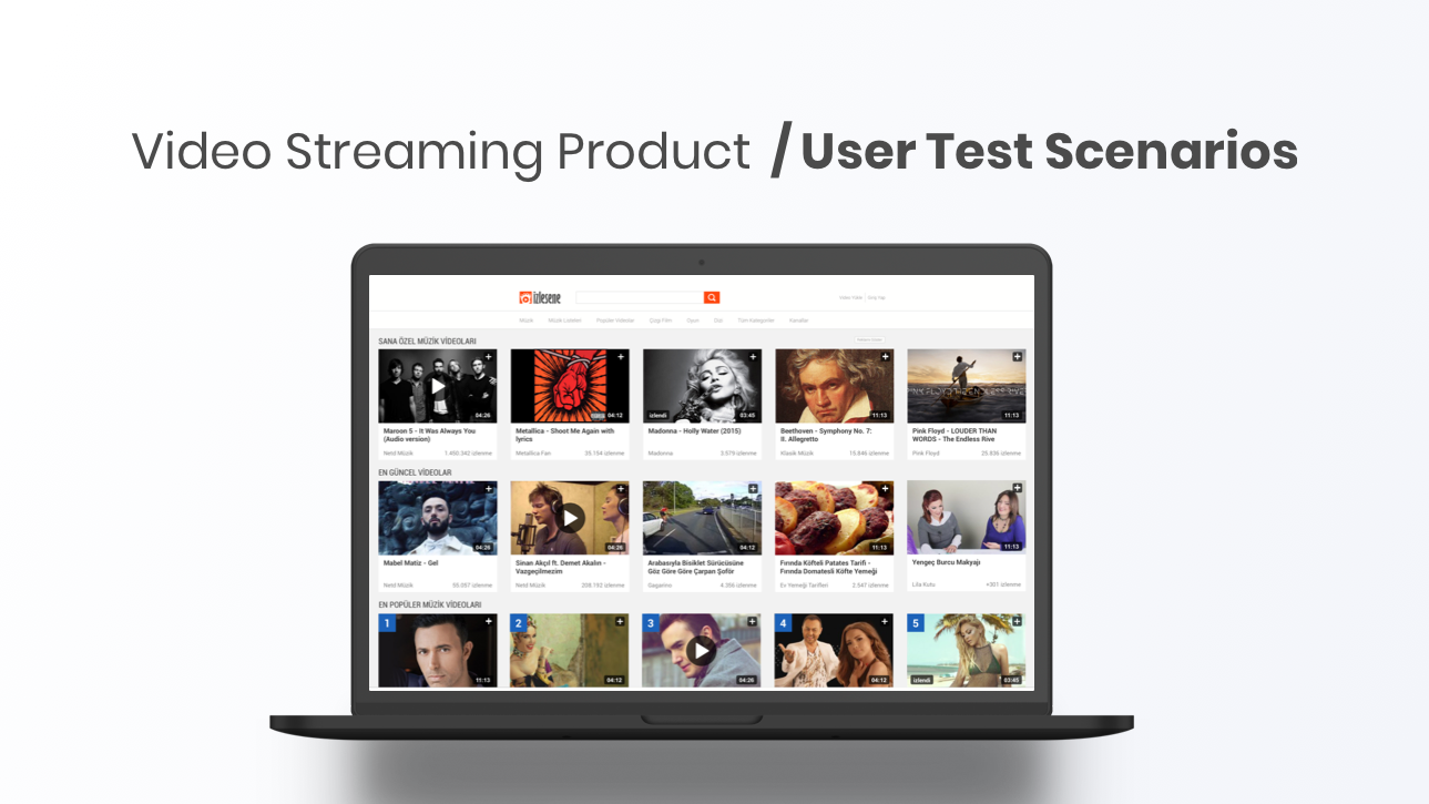 Video Streaming Product –  Case Studies
